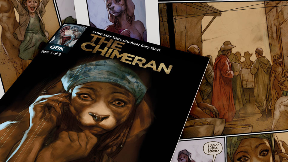 Sneak Peak of The Chimeran comic, from Paul Goodenough, Ben Oliver and Annie Parkhouse